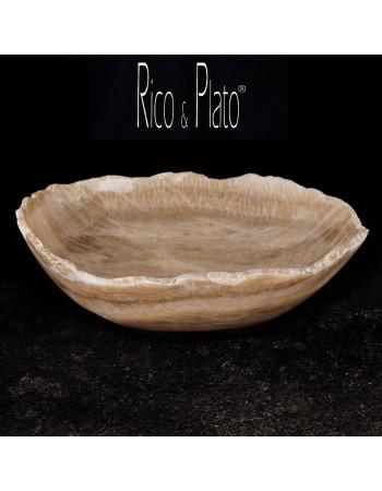 Bowl in Onyx Firenze 3 I Rico & Plato