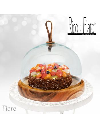Cheese platter / cake server 'Fiore' I Rico & Plato
