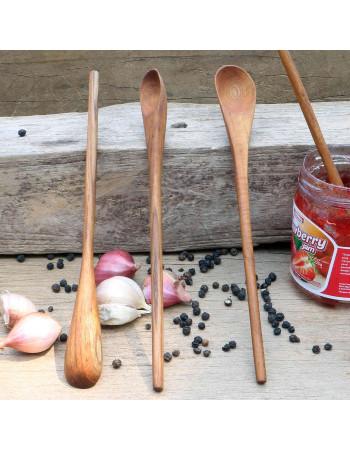 teak wooden jam spoon