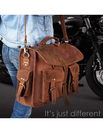 Vintage Leather briefcase 'Jim'