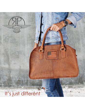 Leather Bag 'Tina' USA
