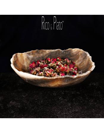 Bowl in Onyx Firenze 1 I Rico & Plato