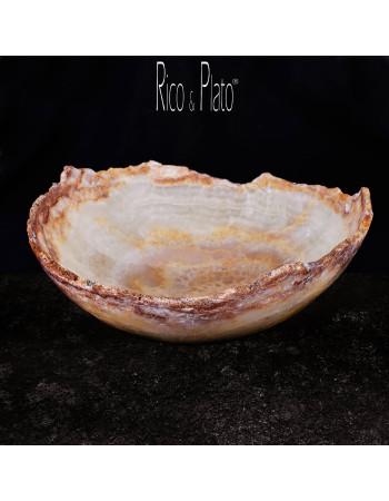 Bowl in Onyx Firenze 2 I Rico & Plato