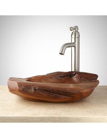 Teak root basin 50cm