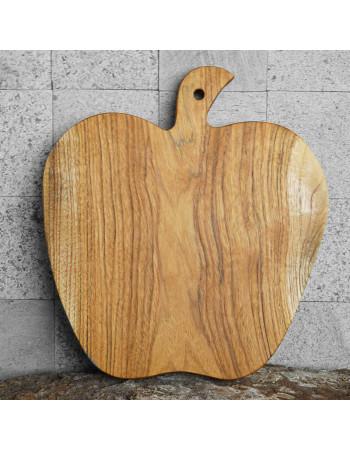 "Teak cutting board / serving platter ""Apple I"""