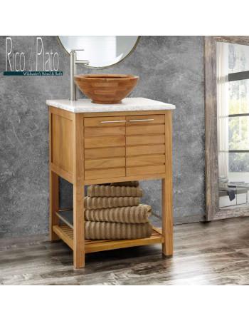 Teak bathroom vanity ' Lazio '