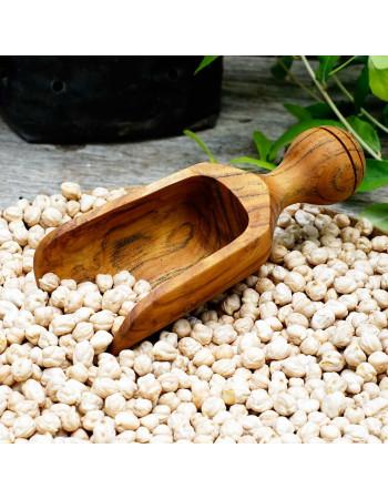 Teak scoop 'Lentil' large | Rico & Plato