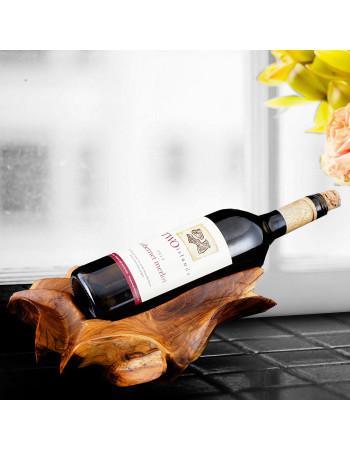 Wooden wine bottle holder Vignerons