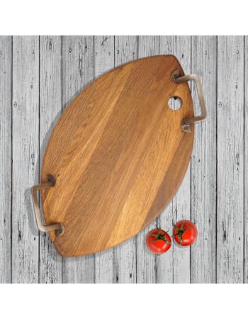Oak serving platter 'Minella oval'