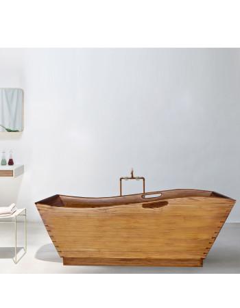 teak bathtubs Kyoto | Rico & Plato