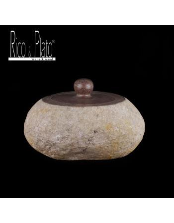 Big river stone Jar 'Benito' I Rico & Plato