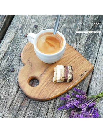 Teak coffee platter 'Corazon'  I Rico & Plato
