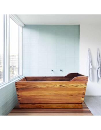 Fuji teak bathtubs