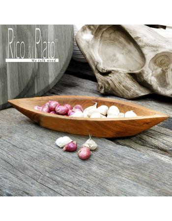 boat shaped serving bowl 'Sofia' Rico & Plato