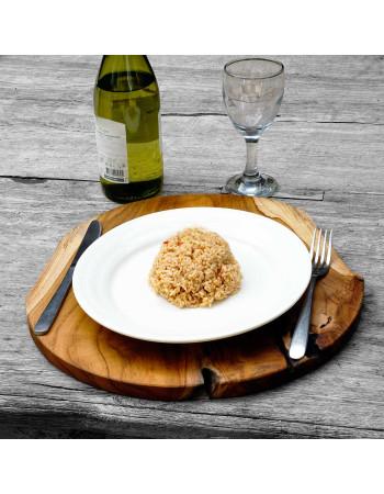 Buy online Teak Pear Plate I Rico & Plato