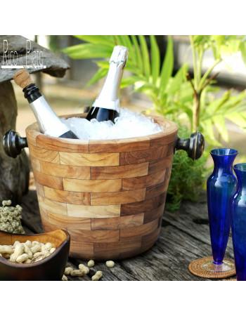 "Teak wine Bucket ""Angelia"" I Rico & Plato"