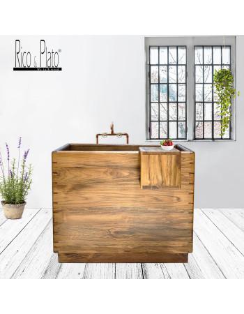 Wooden Bathtub Japan in teakwood