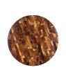 unique teak wooden end grain chopping board Cilantro