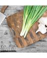 "End Grain Cutting Board ""Masala"" with Leather Handle I Rico & Plato"