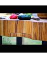 "Unique wooden teak end grain butchers block table ""Celine V"" I Rico & Plato"
